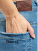 Yakuza Skinny Jeans Fly blau