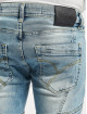 Yakuza Straight Fit Jeans Shard blå