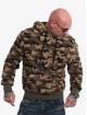 Yakuza Sweat capuche Red Flag Sherpa camouflage