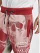 Yakuza Sweat Pant Muerte Skull red