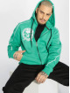 Yakuza Sweatvest Jolly Zip turquois