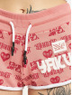 Yakuza Szorty Logo Love pink