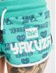 Yakuza Szorty Logo Love turkusowy