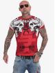 Yakuza T-paidat Sick Nippon punainen