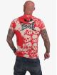 Yakuza T-paidat Killing Fields punainen
