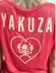 Yakuza T-paidat 893Love Emb V Neck vaaleanpunainen