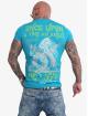 Yakuza t-shirt Once Upon blauw