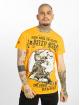 Yakuza t-shirt Loyality geel 1