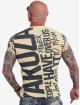 Yakuza T-Shirt Power Over Us gelb