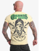 Yakuza T-Shirt Cuernos De Chivo V02 gelb