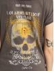 Yakuza T-Shirt Rebel Wide Crew grey
