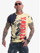Yakuza T-Shirt Raid jaune