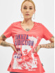 Yakuza T-Shirt Addiction V Neck pink