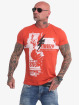 Yakuza T-shirt Crucified röd