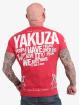 Yakuza t-shirt Power Over Us rood