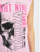 Yakuza t-shirt Dropping Skull Stripe rose