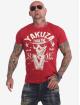 Yakuza T-shirt Rules rosso