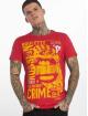 Yakuza T-Shirt Russian Roulette rouge 0