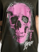 Yakuza T-Shirt Glowing Skull Crew schwarz