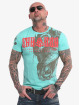 Yakuza T-shirt Dragon turchese