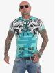 Yakuza t-shirt Sick Nippon turquois