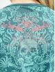 Yakuza T-Shirt Sick Pattern turquoise