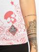 Yakuza T-Shirt Tijuana V-Neck weiß 3