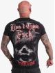 Yakuza t-shirt Give A Fck zwart
