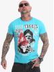 Yakuza T-shirts Earth blå