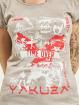 Yakuza T-shirts Time Over Dye Racer Back grå