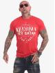 Yakuza T-Shirty Hey Satan czerwony