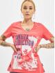 Yakuza T-Shirty Addiction V Neck pink