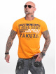 Yakuza T-Shirty Fly pomaranczowy