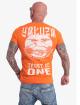 Yakuza T-Shirty Trust No One pomaranczowy