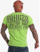 Yakuza T-Shirty Destroys U zielony