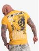 Yakuza T-Shirty Galaxy zólty