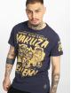 Yakuza T-skjorter Enemy blå 0