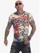 Yakuza T-skjorter Killing Fields blå