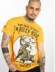 Yakuza T-skjorter Loyality gul 0
