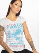 Yakuza T-skjorter Burried V-Neck hvit