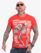 Yakuza T-skjorter Power Over Us oransje