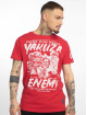 Yakuza T-skjorter Enemy red 0