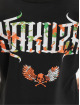 Yakuza T-skjorter Angel Box Fit svart