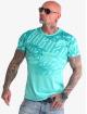 Yakuza T-skjorter Life Allover turkis
