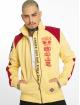 Yakuza Veste mi-saison légère Lily Skull Two Face Training jaune 0