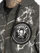 Yakuza Zip Hoodie Marble grau 4