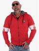 Yakuza Zip Hoodie Helmet Quilted red