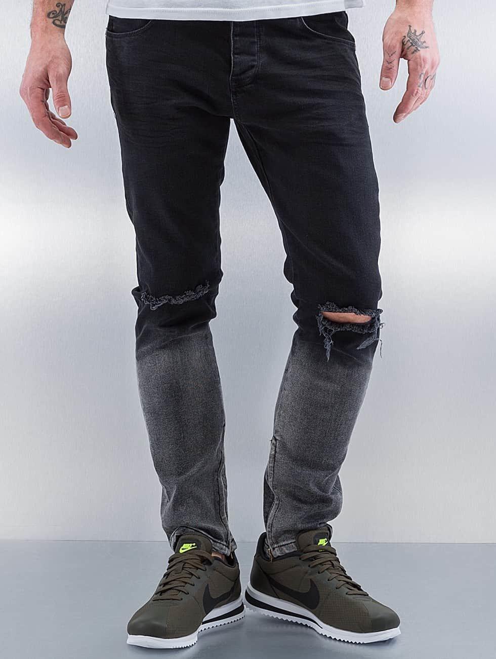 2Y Облегающие джинсы Two Tone черный