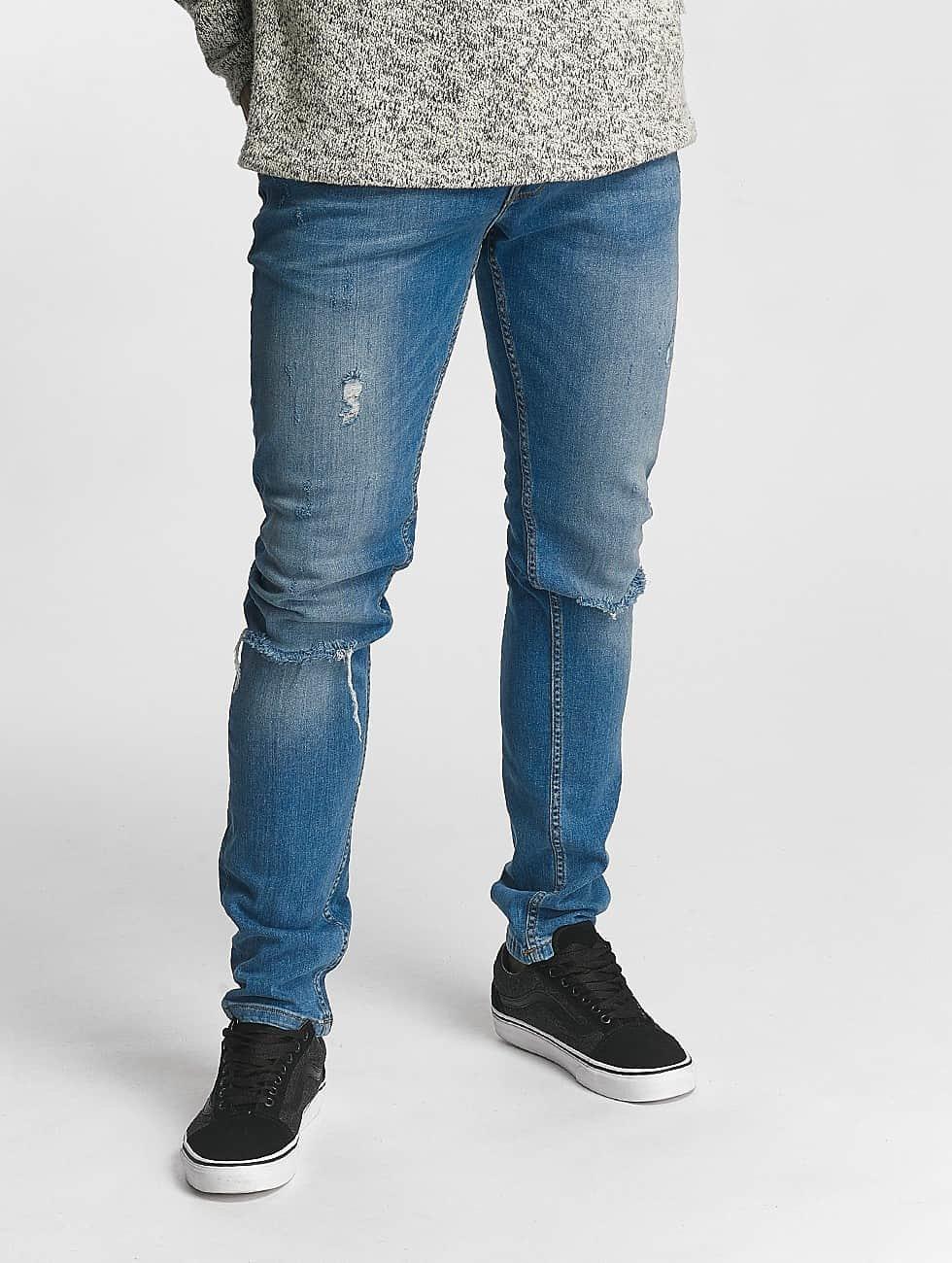 2Y Slim Fit -farkut Noah sininen