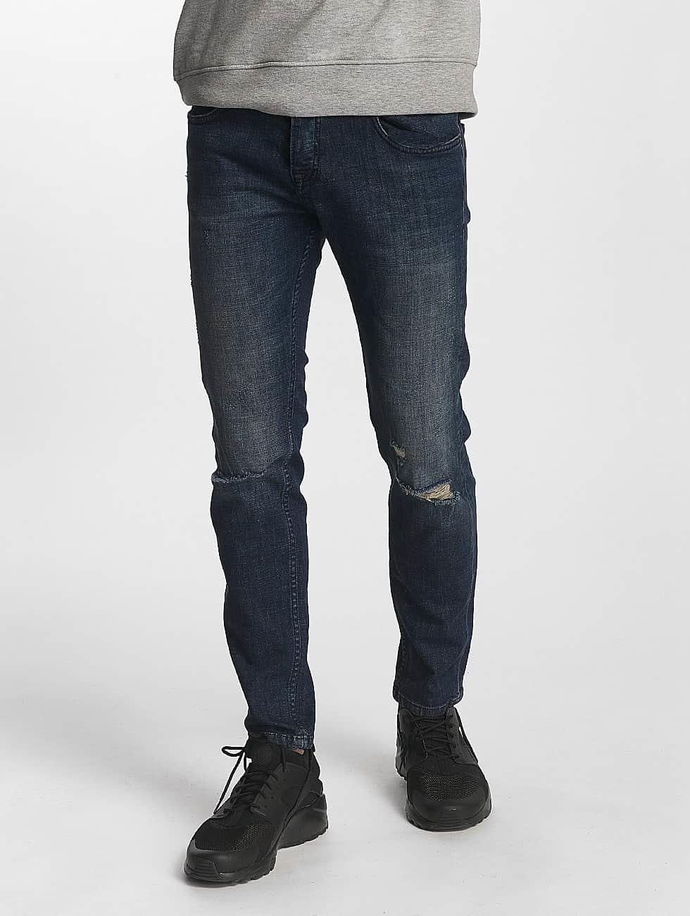 2Y Slim Fit Jeans Harrison blå